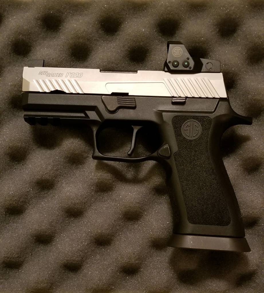 P320 RX on X Carry Grip (Finished Project) - SIG Talk