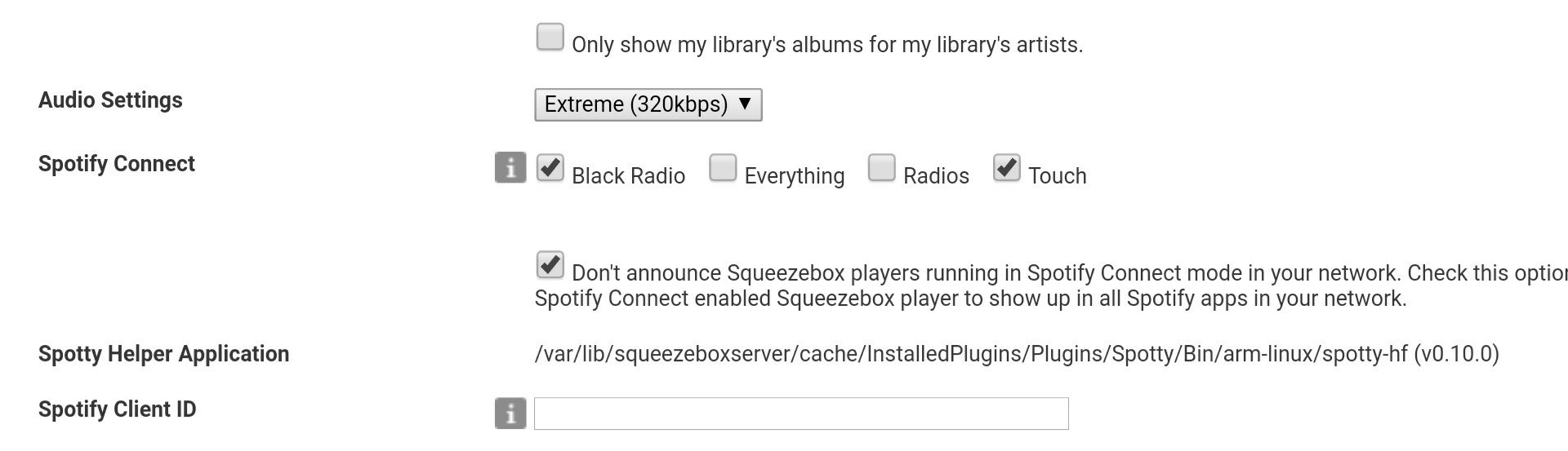 Announce] Spotty 2 0 0 - Spotify Connect for your Squeezebox