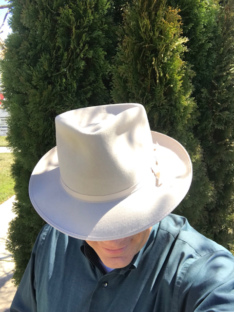1c4b8a3f Stetson Stratoliner Premier Open Crown | The Fedora Lounge
