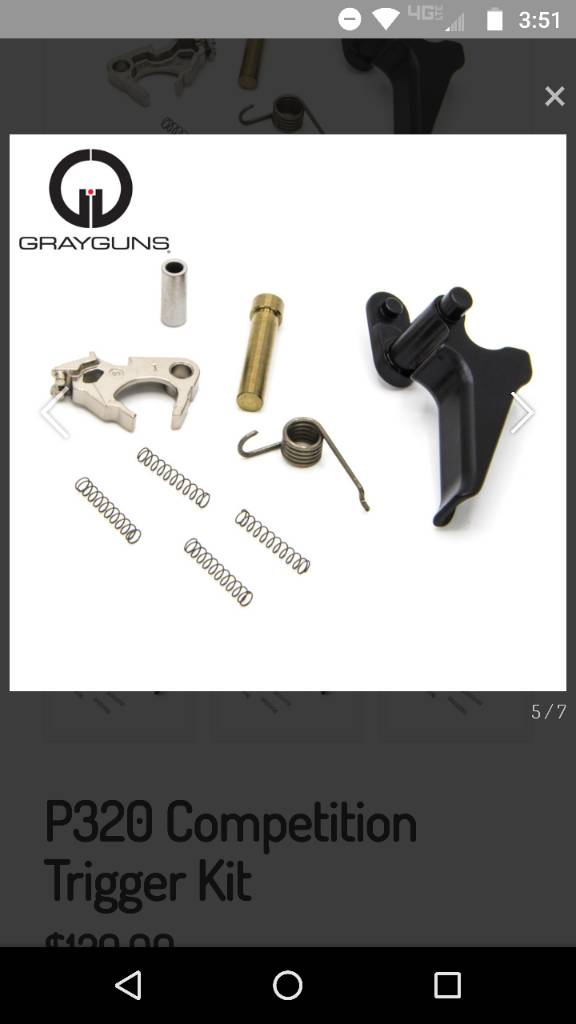 Grayguns Competition Trigger Kit - SIG Talk