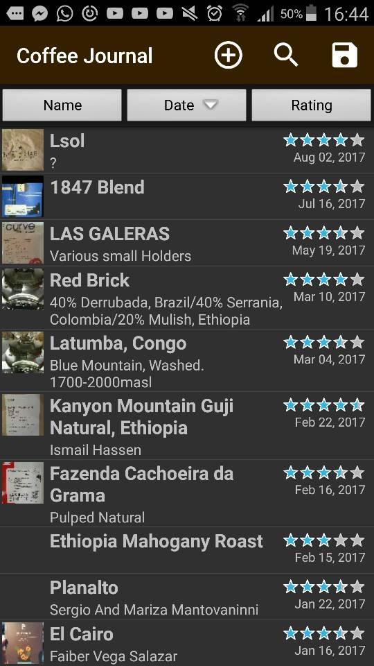Catador: iPad Coffee Cupping Scoresheet App