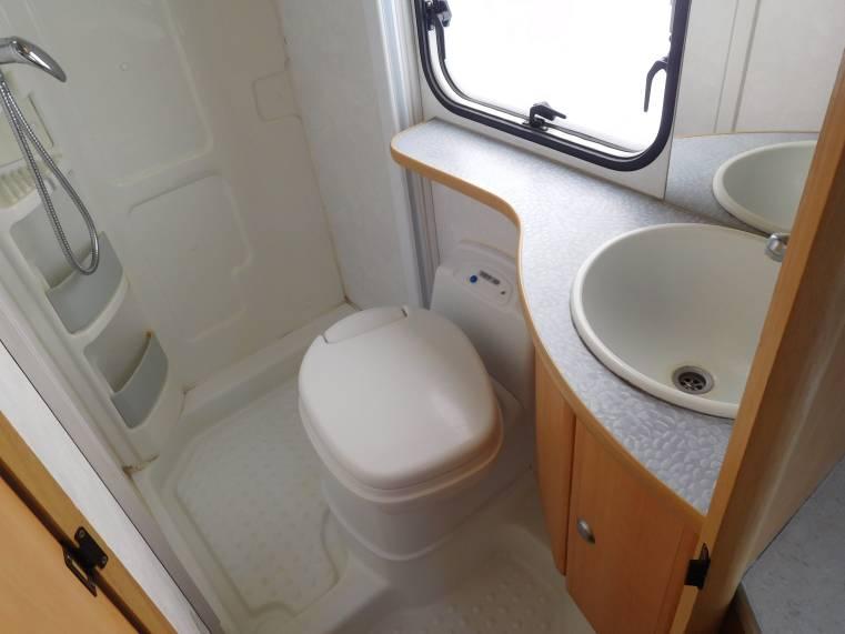 Welke kit in de douche gebruiken? www.camperforum.nl