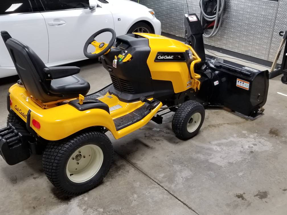 Overall view of XT3 so far  End of winter season - MyTractorForum