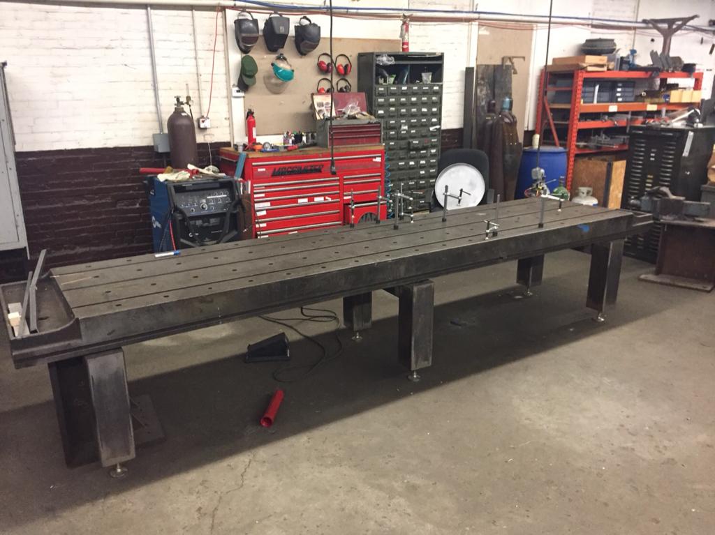 Big T Slot Welding Table