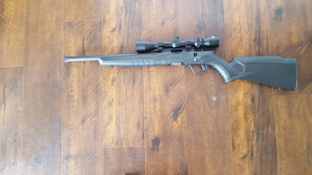 New Savage B22 Accuracy? - RimfireCentral com Forums