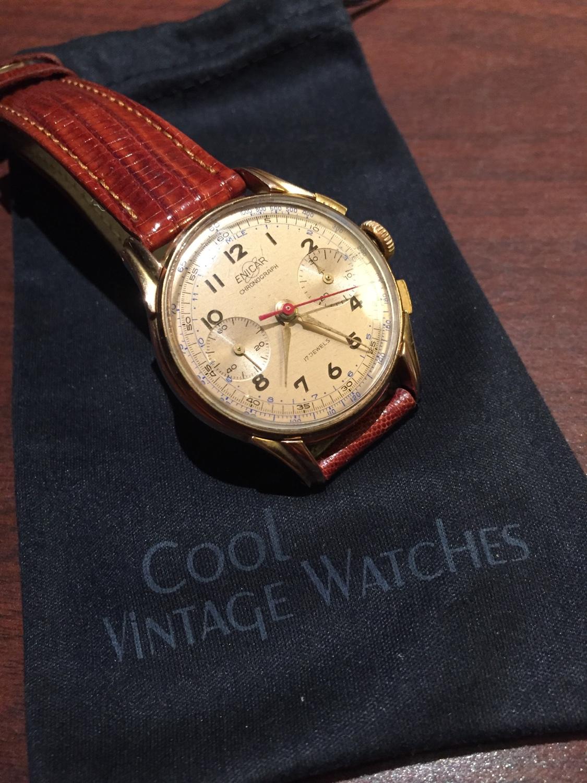 1950s Enicar Chronograph