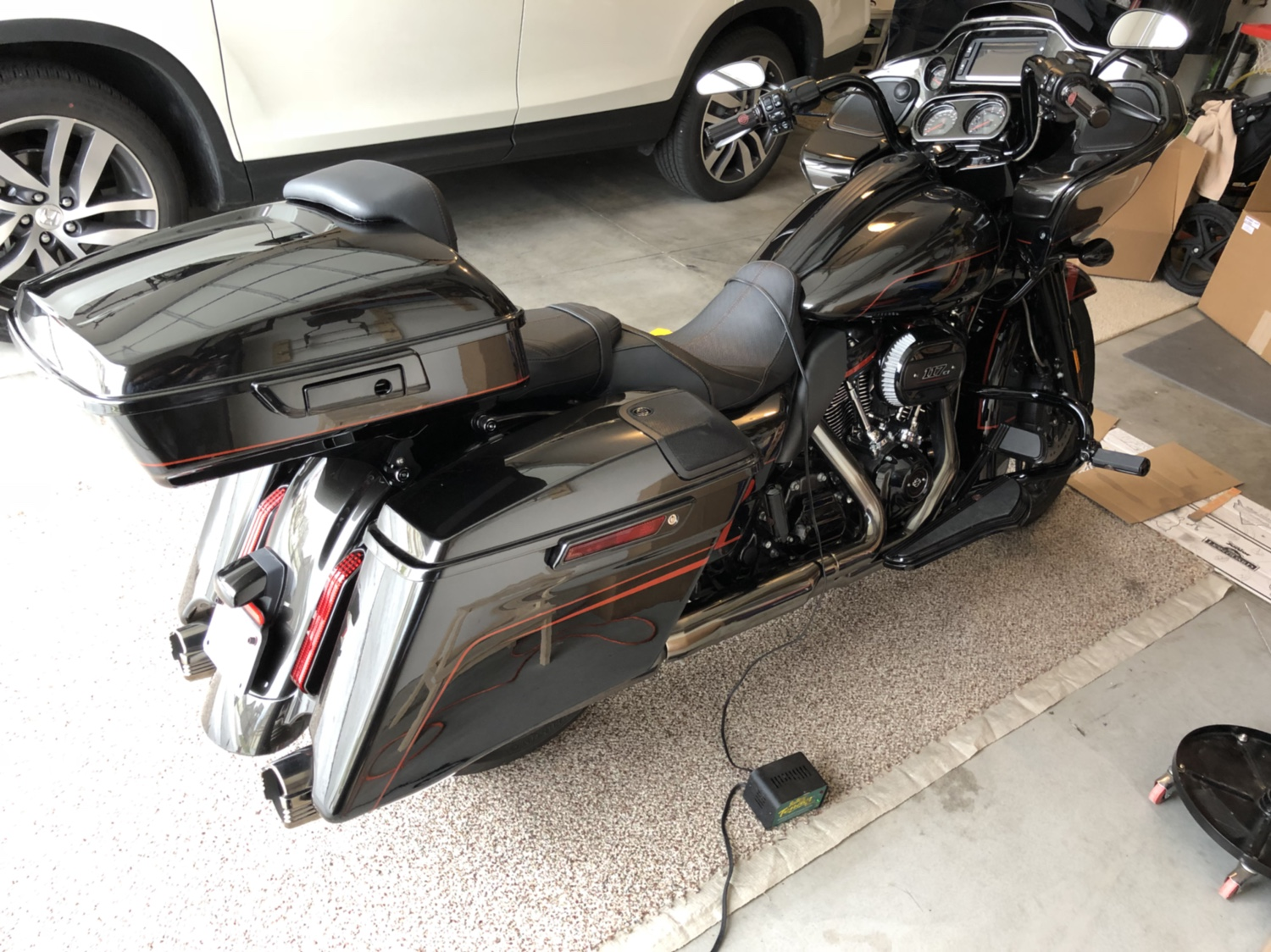 New 18 CVO from a 12 CVO - Road Glide Forums