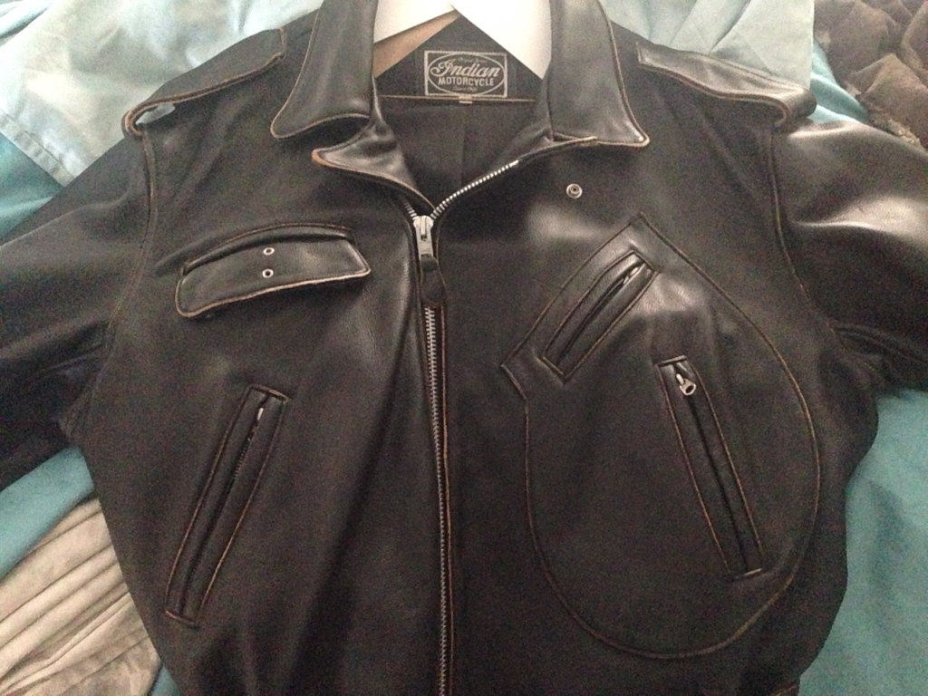 For Sale Vintage Indian Jacket In Like New Condition Indian Motorcycle Forum