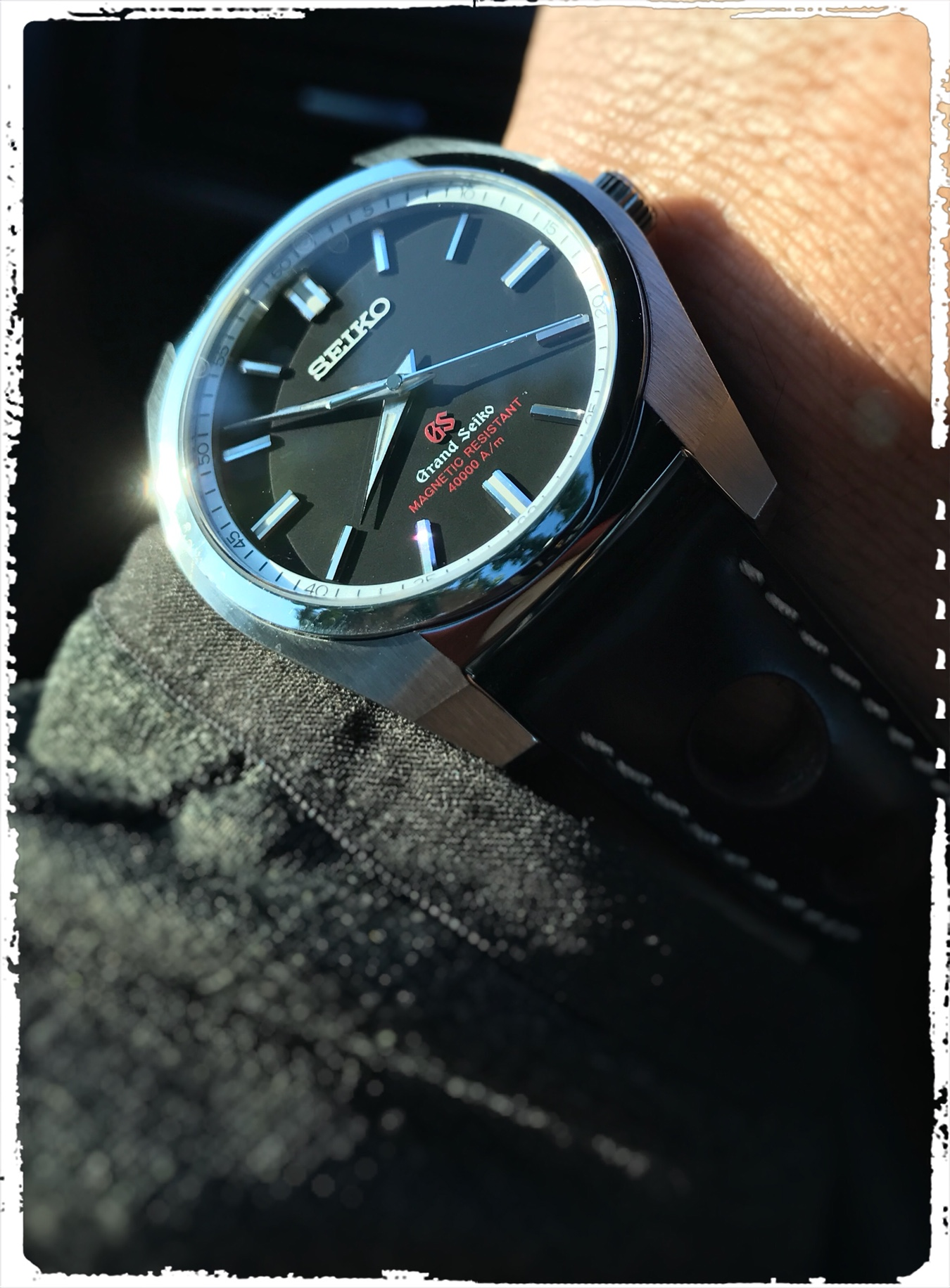 brand new 1ca61 724cc First Quartz. SBGX293 Magnetic Resistant - Page 2