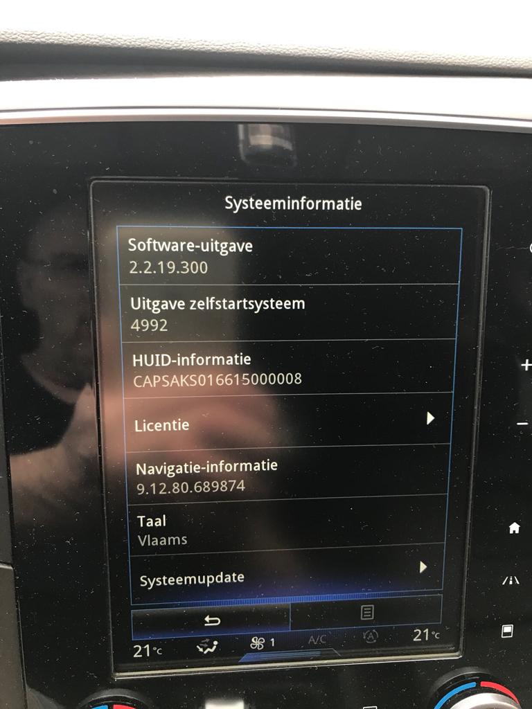 Systeem update R-Link 2 8-april-2018 - Pagina 2 - RENAULT forum