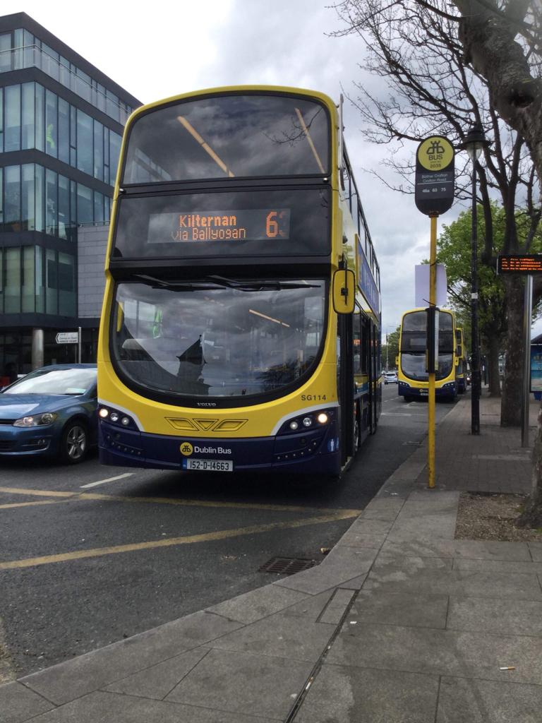 Dublin Bus Routes At Their Termini Irish Road Passenger
