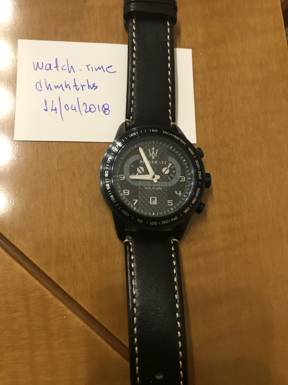 [Άκυρο] Πωλείται Ρολόι Maserati - Αγγελίες για μεταχειρισμένα ρολόγια