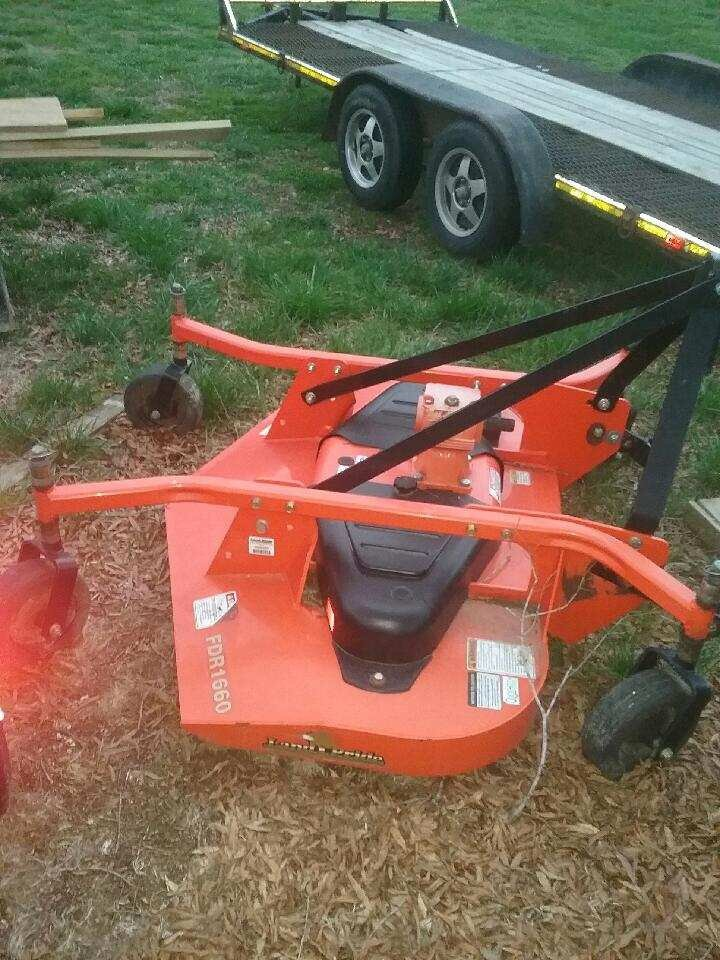 Anyone Running A Land Pride Finish Mower