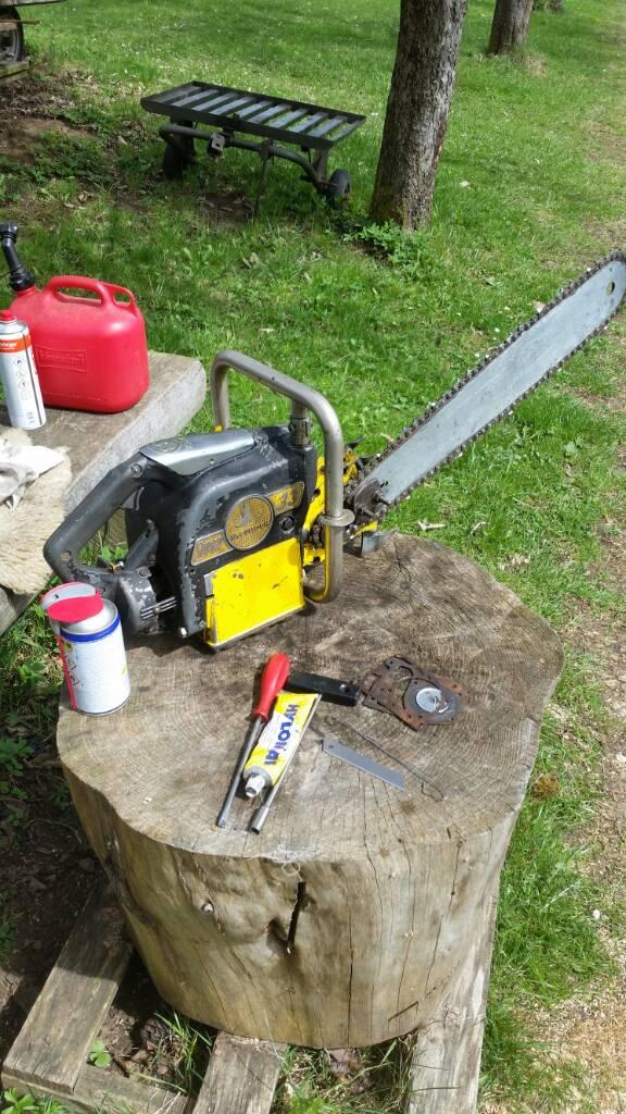 McCulloch 35 chainsaw | Arboristsite com