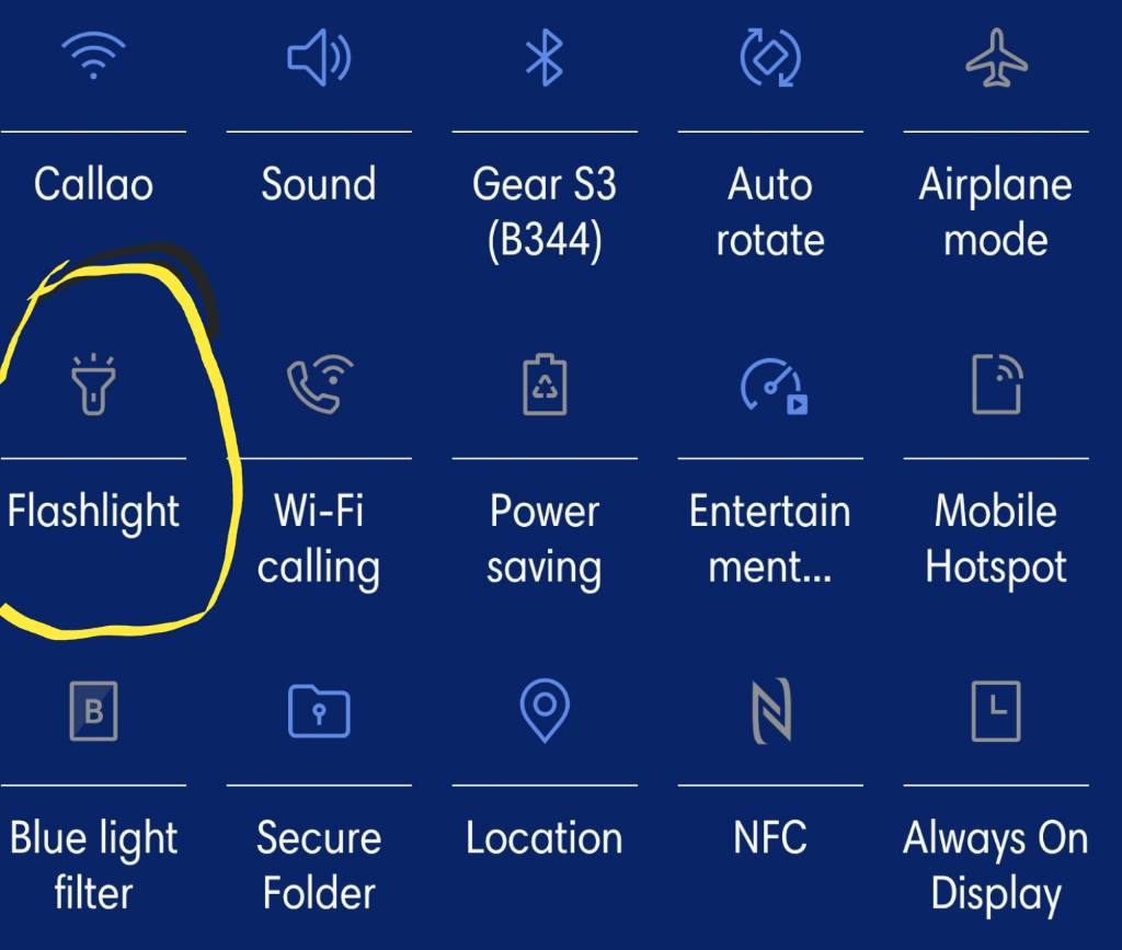 Flashlight questions: - Android Forums at AndroidCentral com