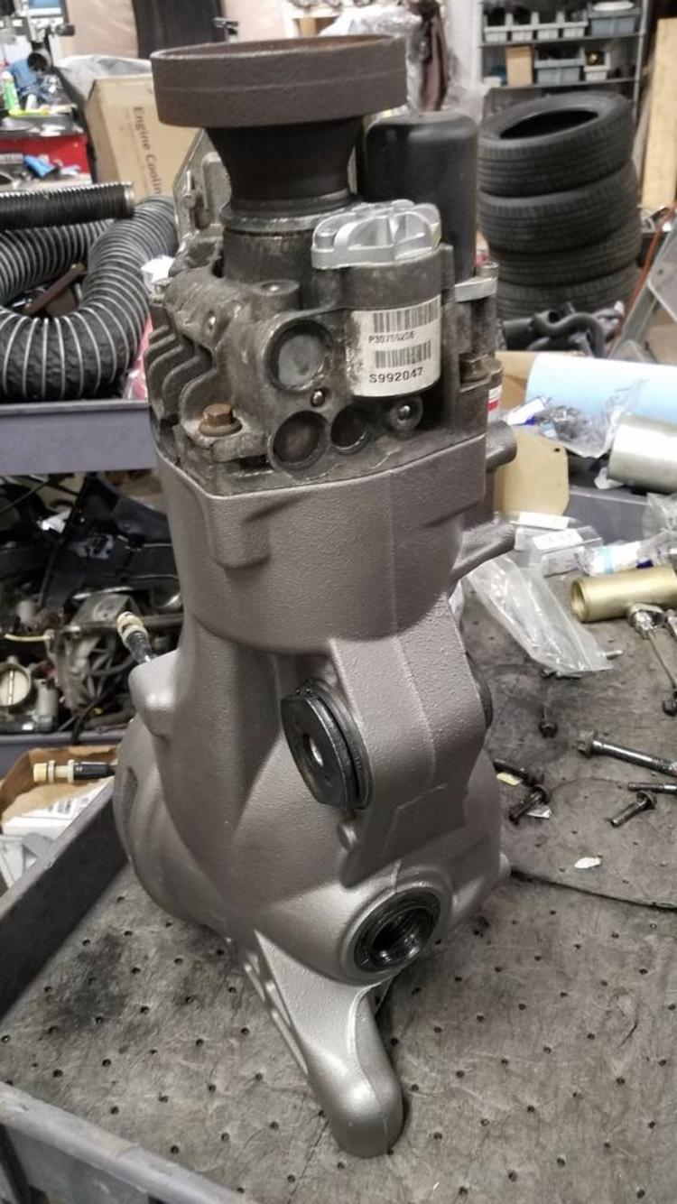 lr2 rear differential rebuild
