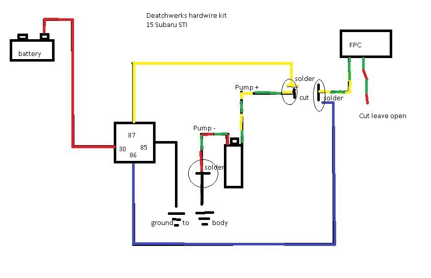 How To  Re-wire Fuel Pump For Constant Voltage