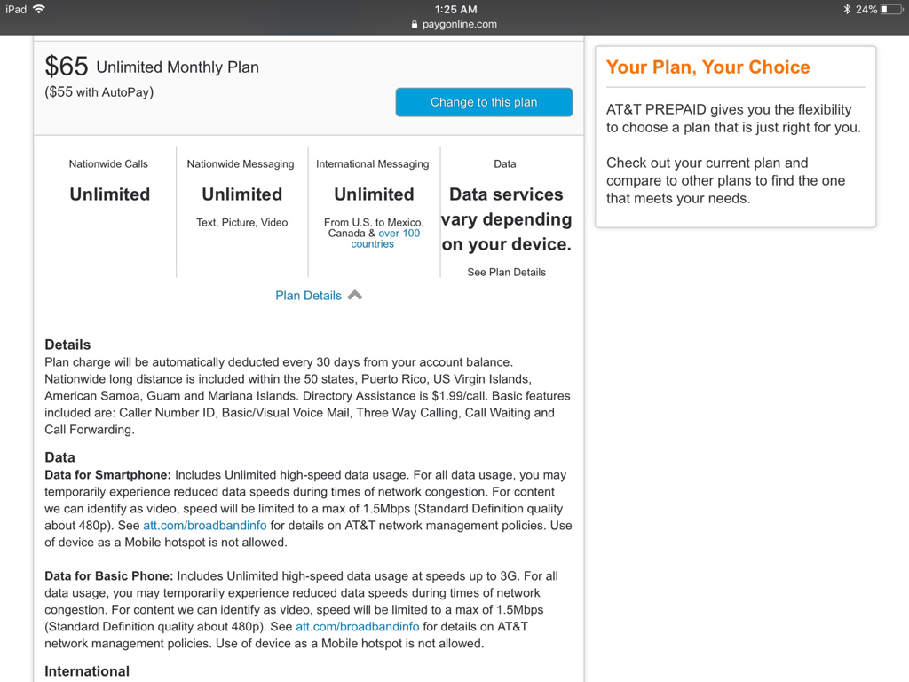 AT&T Prepaid Quietly introduces a new 8GB Service plan!