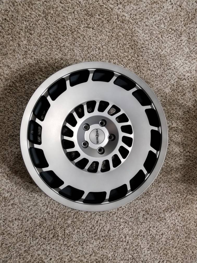 vwvortexcom brand  rotiform ccv gunmetal grey  wheels