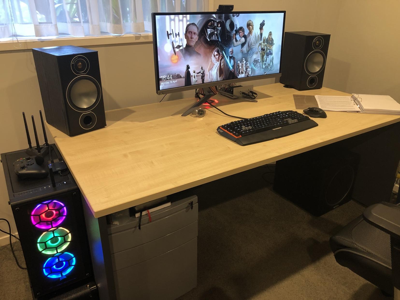 Desk Setups (Page 2) - Gameplanet Forums PC Building