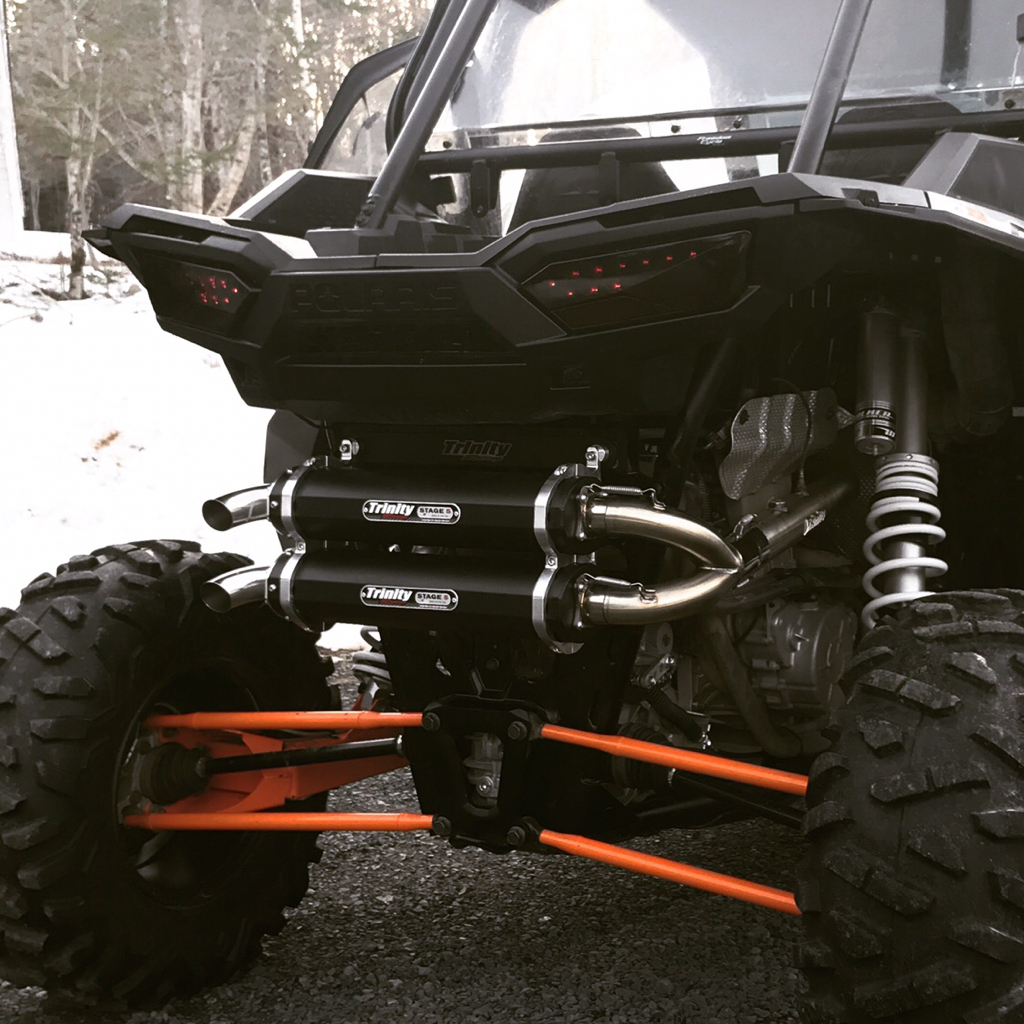 Trinity or hmf exhaust - Polaris RZR Forum - RZR Forums net