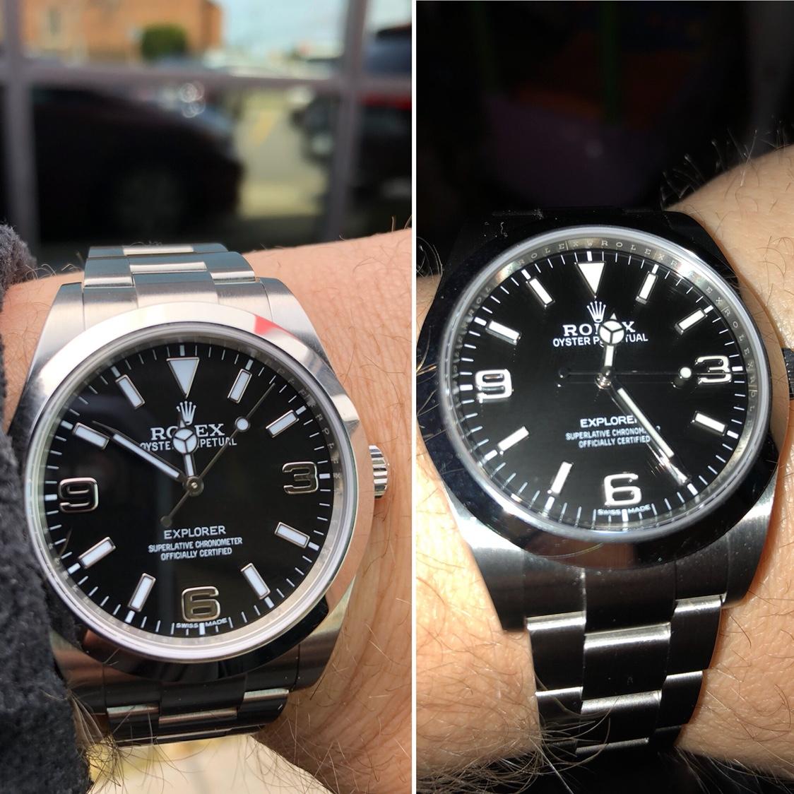 Explorer 214270. Mk1 or Mk2??? , Rolex Forums , Rolex Watch