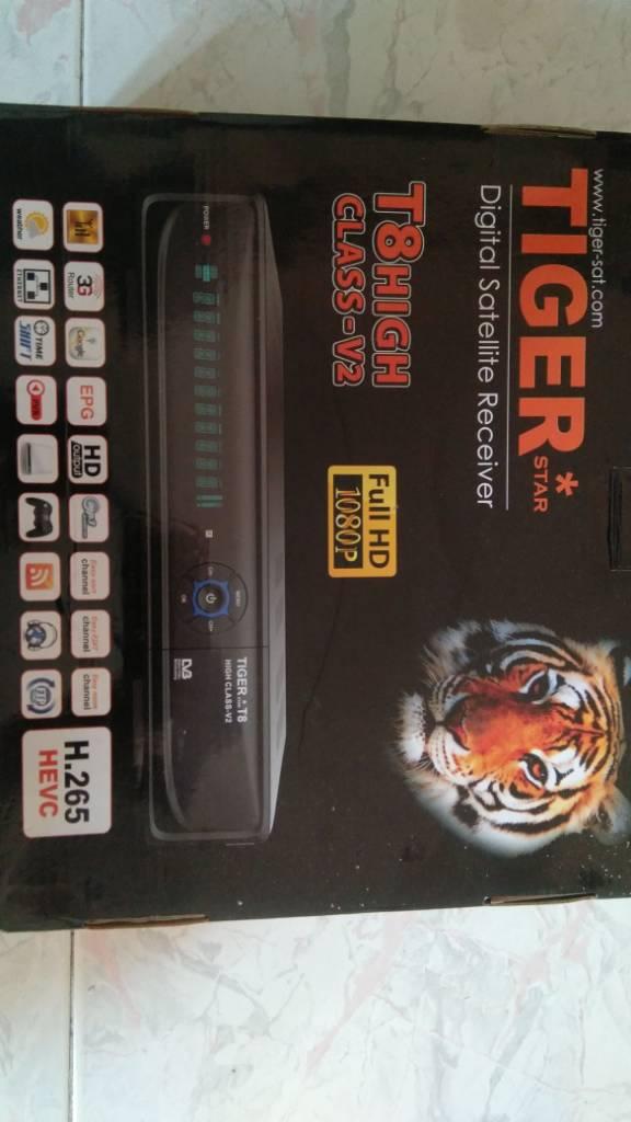 Tiger T8 high class V2 - Global-SatSharing
