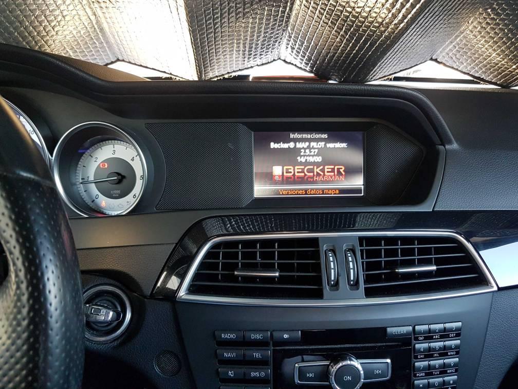 Google Maps en Becker maps pilor | Mercedes-Benz