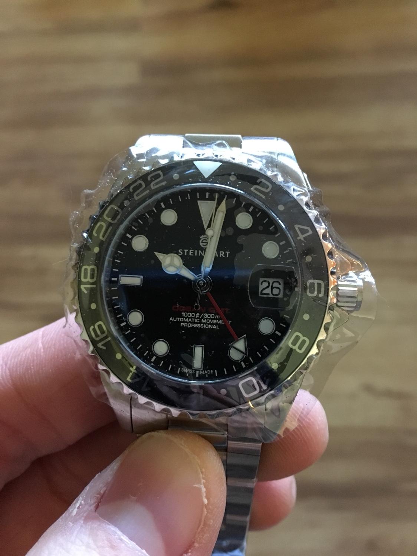 New Ocean 39 GMT hand misaligned