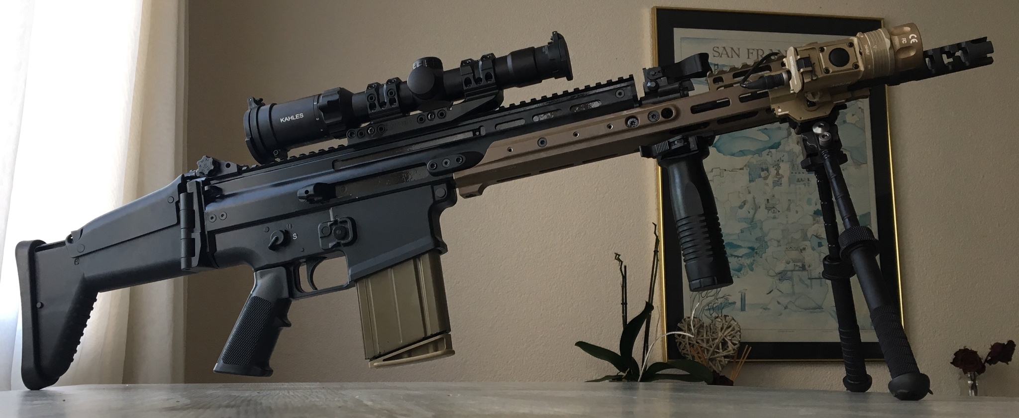 My upgrades FN SCAR 17 / KDG MREX RAIL 6 5