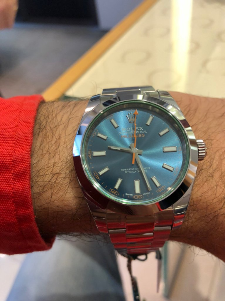 Question on number of links on Milgauss Bracelet