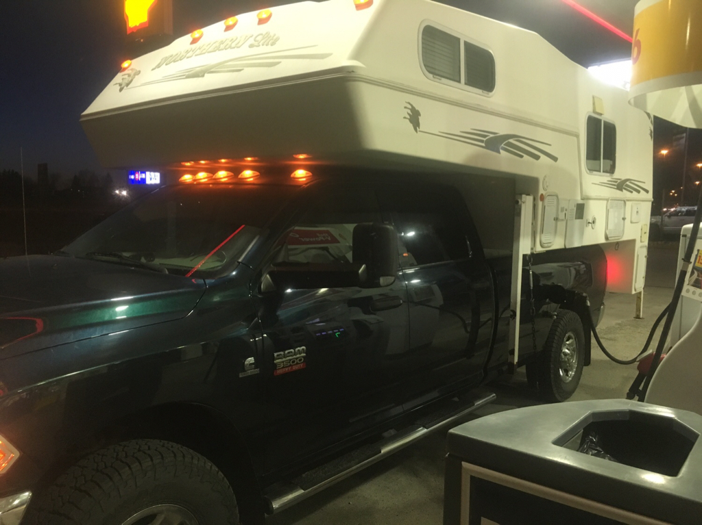 Truck Camper steps for a northern lite camper | Expedition