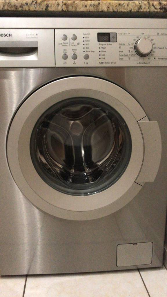 fs bosch series 6 varioperfect 8kg front loader washing machine jhb r4500. Black Bedroom Furniture Sets. Home Design Ideas
