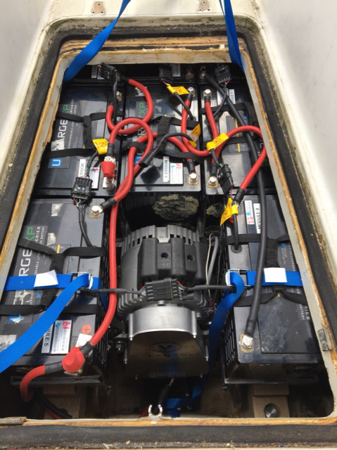 Svenska IF-båtförbundets forum - Electric drive conversion