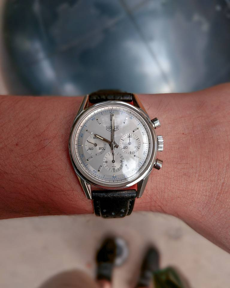 FS: TAG Heuer Carrera 1964 Re-edition CS3110