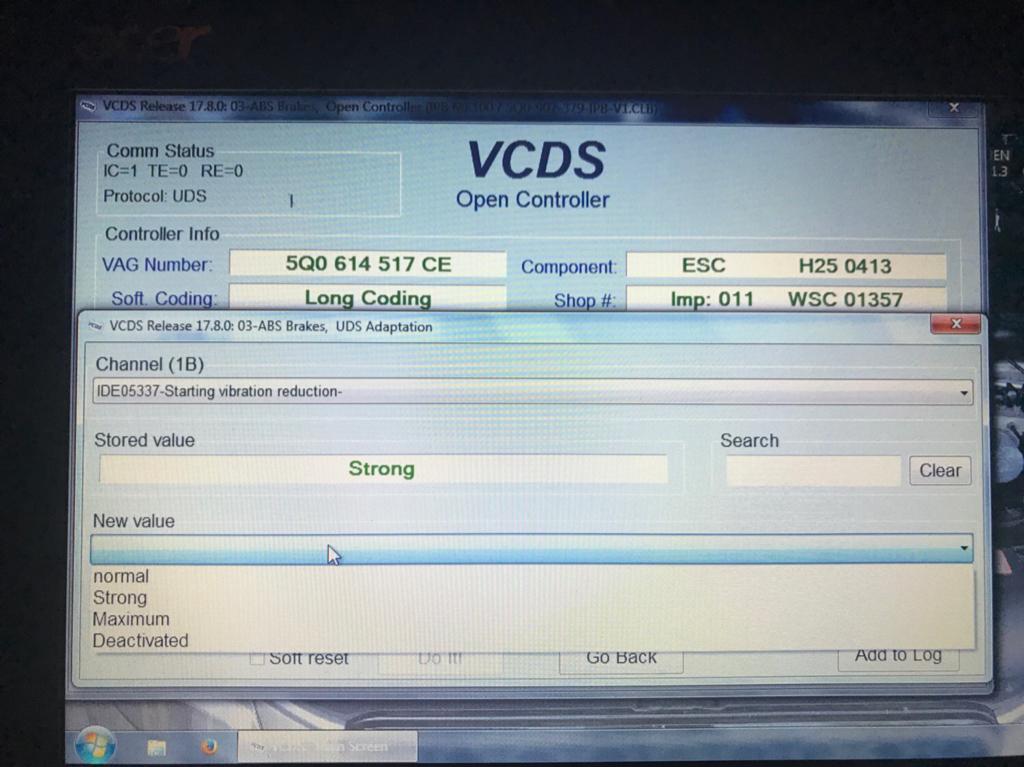 VWVortex com - MK7 5 Golf R VCDS Tweaks