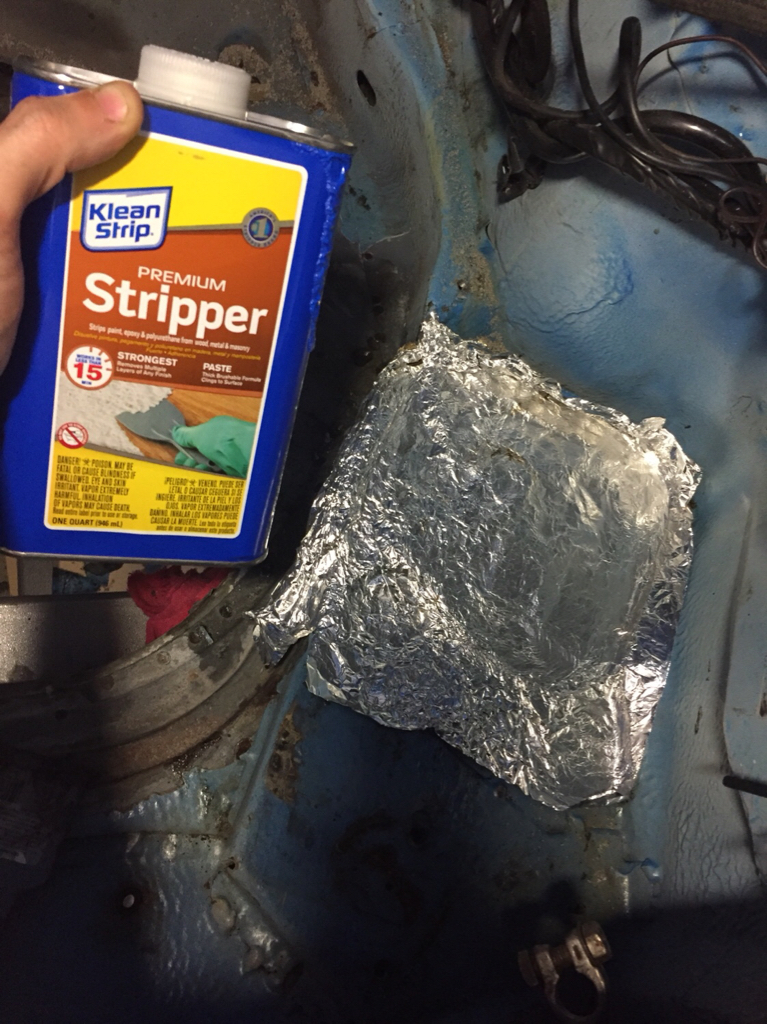How to strip rubberized undercoat??? - Pelican Parts Forums