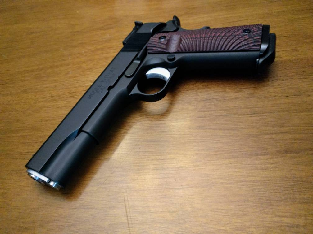 New 9MM Range Officer Stainless or RO Elite Target? - 1911Forum