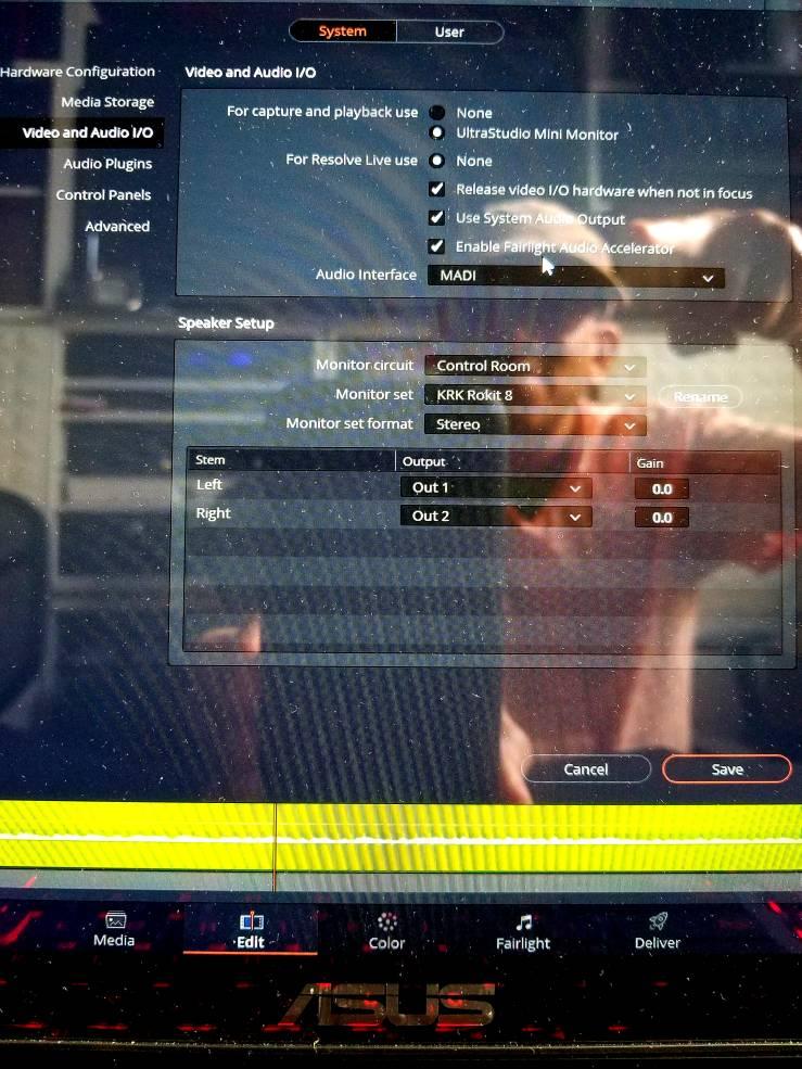 Blackmagic Forum • View topic - No audio playback in Davinci Resolve 15