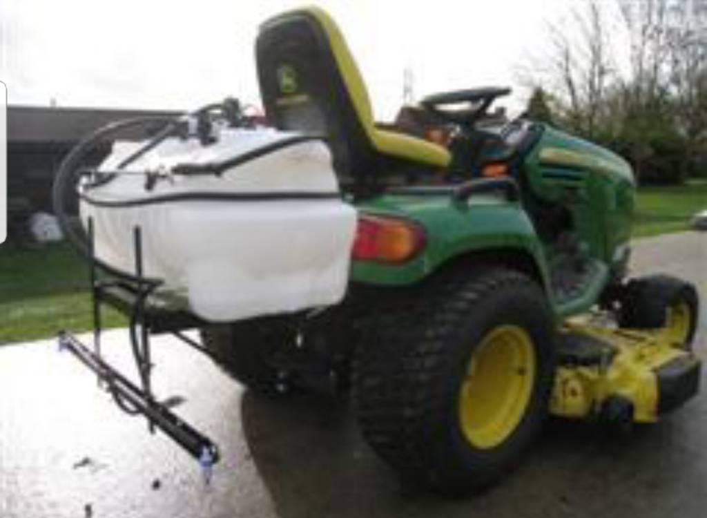 building  custom lawn sprayer opinions