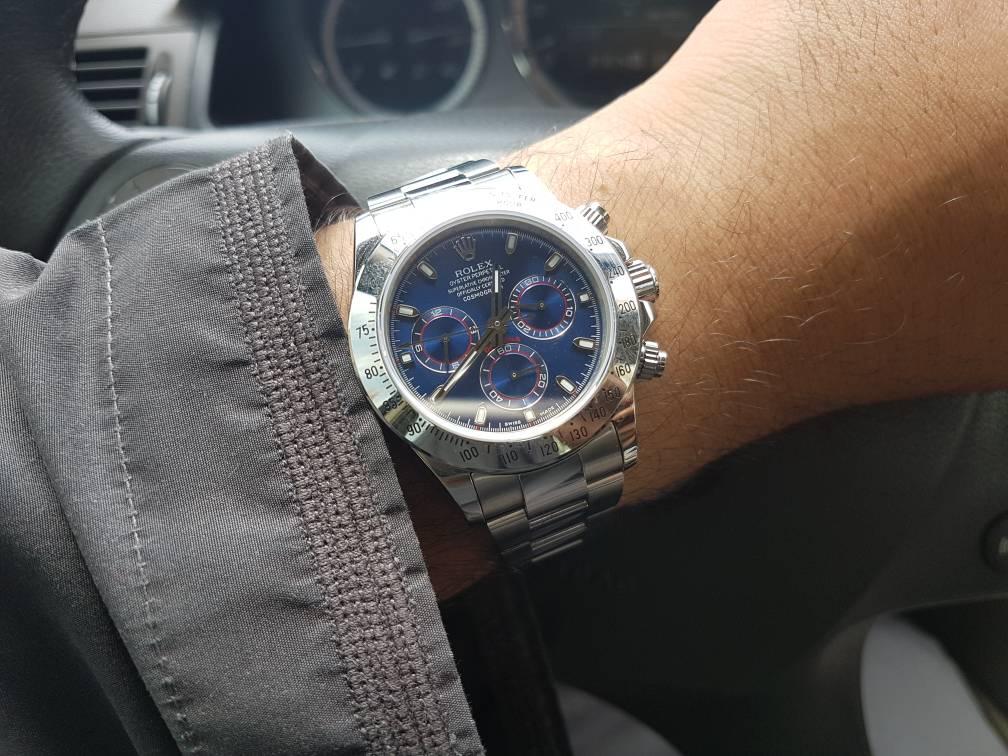 Rolex Daytona Blue Dial 116509BLSO Replica Unboxing