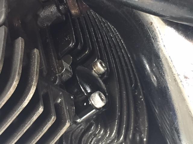 Possible head gasket oil leak - Star Motorcycle Forums: Star