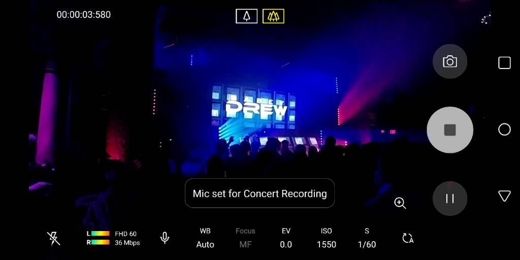 4k60fps and concert mode? - Android Forums at AndroidCentral com
