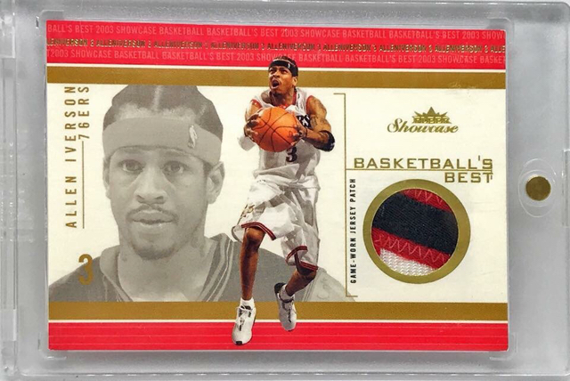separation shoes c91fc 1ab00 Allen Iverson Game Used Cards show off thread - Blowout ...