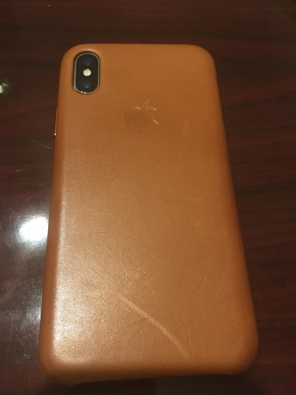de0664cb160 Love my saddle brown leather case. Don t even mind it getting scratched.  Makes it unique.