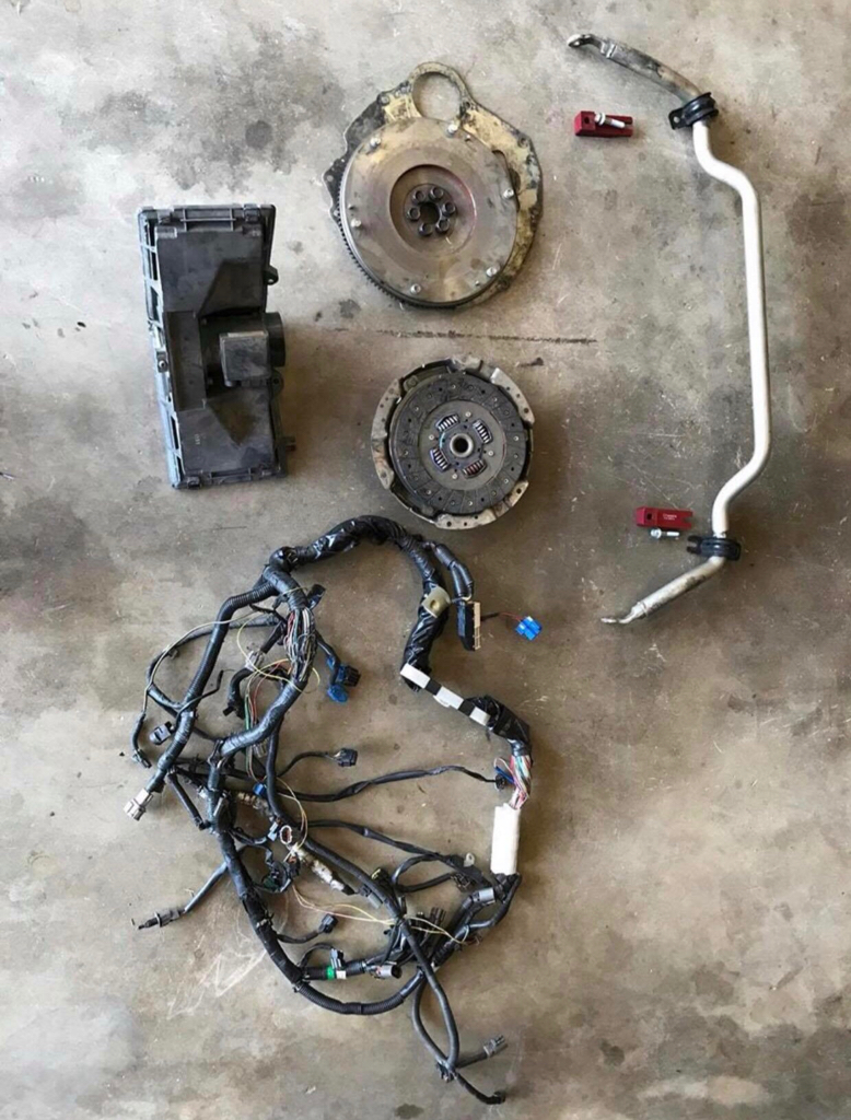 Ca 97 S14 Harness Cusco F Sway Bar Z32 Maf Wiring Tt 65 Shipped Without Housing Engine Uncut Sold Front W Spacers 100