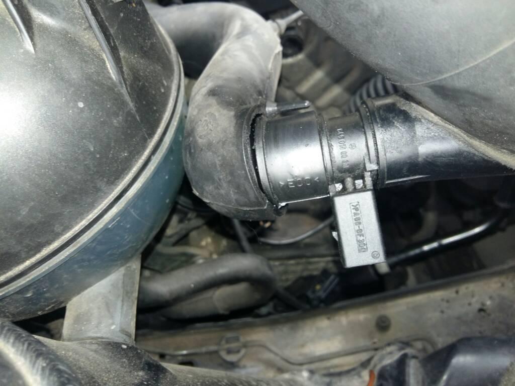 Dove si trova il sensore MAP w169 del 2005 - Mercedes-Benz ...