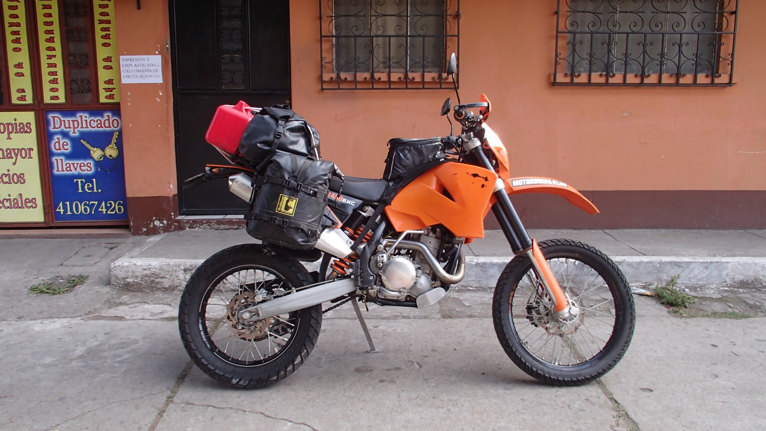 ktm 500 exc as adventure bike? - Horizons Unlimited - The HUBB