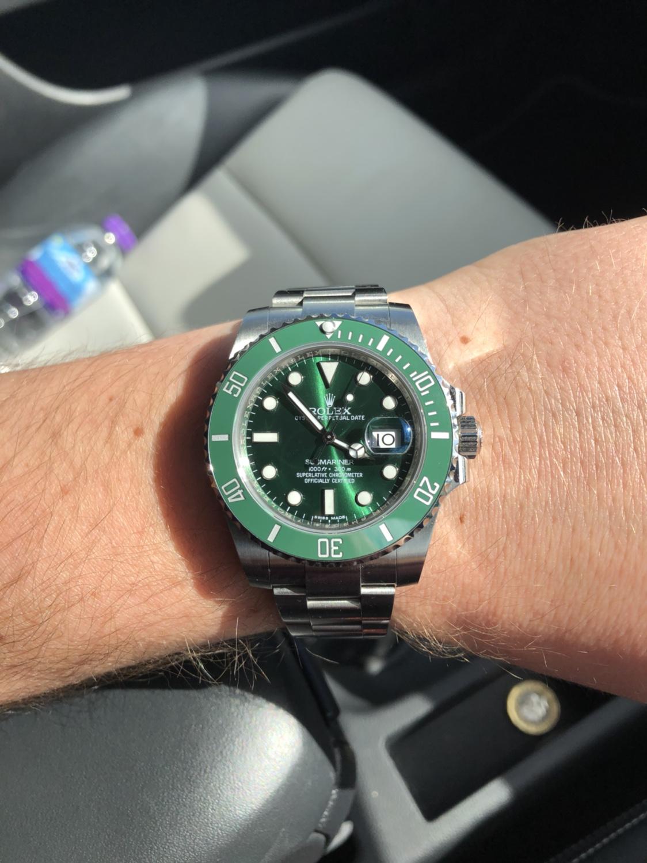 Rolex Submariner Hulk V9