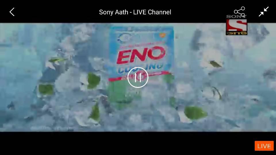 Breaking News - Sony Aath added on Sony LIV  | EntMnt